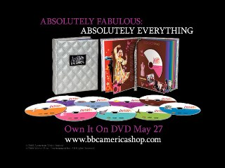 Absolutely Fabulous: Absolutely Everything: Happy New Year