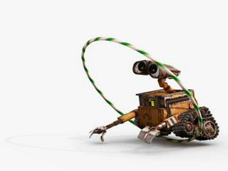 Wall-e Meets Hula Hoop Vignette