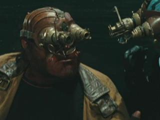 Hellboy 2 The Golden Army Team Confronts The Bag Lady