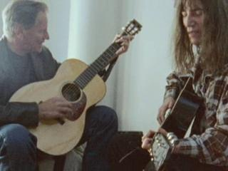 Patti Smith Dream Of Life Patti And Sam Shepard Talk About Their Tattoos And Sing Two Dollar Bill