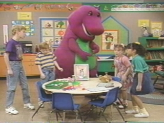 BARNEY RHYMES WITH MOTHER GOOSE