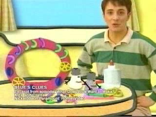BLUE'S CLUES: WHAT DOES BLUE WANT TO MAKE?
