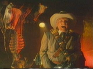 THE TEXAS CHAINSAW MASSACRE 2 SCENE: KABLOOWEE!