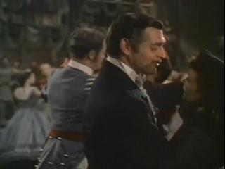 Gone With The Wind Scene Rhett And Scarlet Dancing