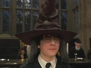 HARRY POTTER AND THE SORCERERS STONE SCENE THE SORTING HAT