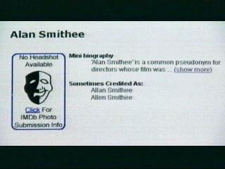 Who Is Alan Smithee