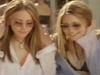 The Olsen Twins Getting There