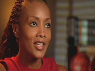 JUWANNA MANN SOUNDBITE: FOX ON HER BASKETBALL TRAINING