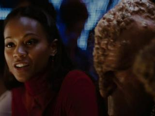 Star Trek Kirk Meets Uhura