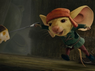 THE TALE OF DESPEREAUX (ITALIAN)