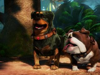 Up Featurette The Dog Pack
