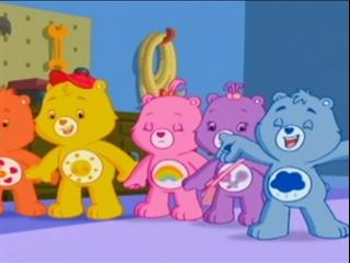 Care Bears Tell-tale Tummies