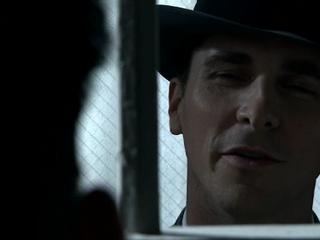 Public Enemies Purvis Confronts Dillinger In Lockup