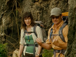 Nick Helps Cliff And Cydney Across A Treacherous Part Of The Trail