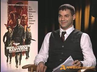 Artistdirectcom Exclusive Inglourious Basterds Cast Interviews