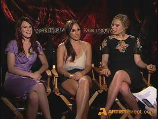 Artistdirect Exclusive Sorority Row Cast Interview