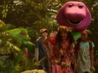 Barney Jungle Friends