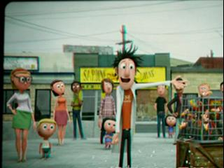 Cloudy With A Chance Of Meatballs Flints Inventions