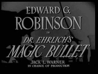 Dr Ehrlichs Magic Bullet