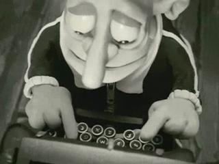 Mary And Max Musical Typewriter