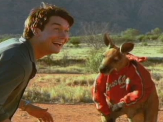 Kangaroo Jack Scene Hes Hoping Away With The Money