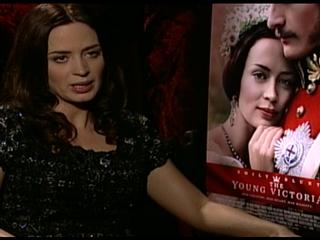The Young Victoria Emily Blunt Interview Exclusive