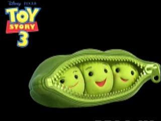 Toy Story 3 Character Turn Peas-in-a-pod