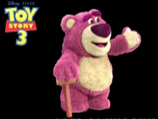 Toy Story 3: Character Turn Lots-O-Huggin' Bear
