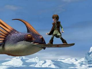 How To Train Your Dragon Viking Games Snowboarding