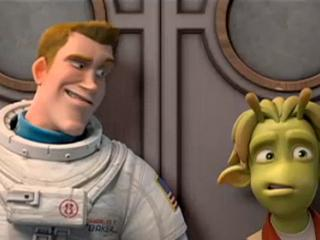 Planet 51 Run Exclusive Clip