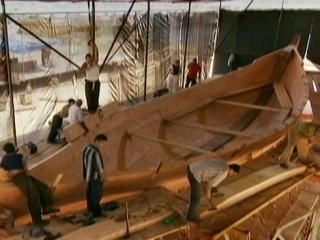 Nova Building Pharaohs Ship
