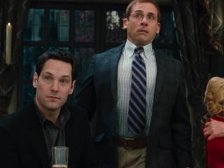 Paul Rudd & Steve Carell in DINNER FOR SCHMUCKS