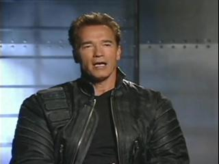 Terminator 3 Rise Of The Machines Soundbites Arnold On Storys Universal Appeal