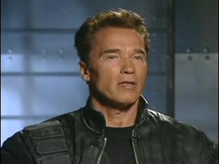 Terminator 3 Rise Of The Machines Soundbites Arnold On The Cast