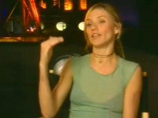 Charlies Angels Full Throttle Soundbites Cameron Diaz