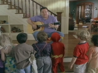 Daddy Day Care Scene Big Phil With A Guitar