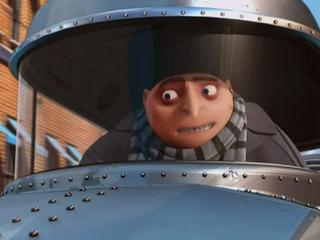 Despicable Me Gru Talks To His Mother While She Is In Kung Fu Class