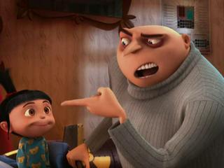 Despicable Me Gru Tries To Get The Girls To Go To Bed