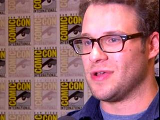 EXCLUSIVE INTERVIEW WITH SETH ROGAN ON THE GREEN HORNET