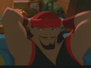 SINBAD: LEGEND OF THE SEVEN SEAS SCENE: MARINA BELOW DECK