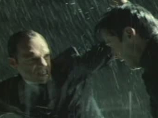 The Matrix Revolutions Scene Flying Battle