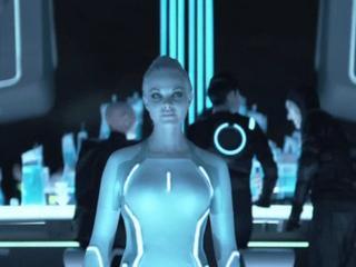 Tron Legacy Sam Meets Castor - Tron Legacy - Flixster Video