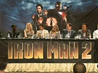 Iron Man 2 Press Conference