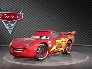 Cars 2 Turntable Lightning Mcqueen