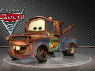 Cars 2 Showroom Turntable Mater