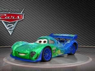Cars 2: Showroom Turntable Carla Veloso