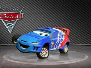 Cars 2: Showroom Turntable Raoul Caroule