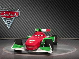 Cars 2 Showroom Turntable Francesco Bernoulli