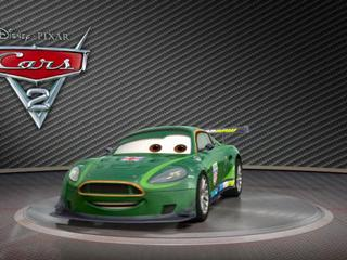 Cars 2: Showroom Turntable Nigel Gearsley