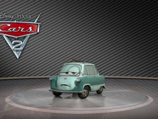 Cars 2: Showroom Turntable Professor Z